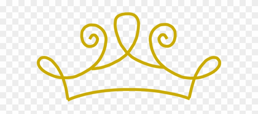 King Crown Clip Art Free Clipart Images - Gold Princess Crown Png #16538