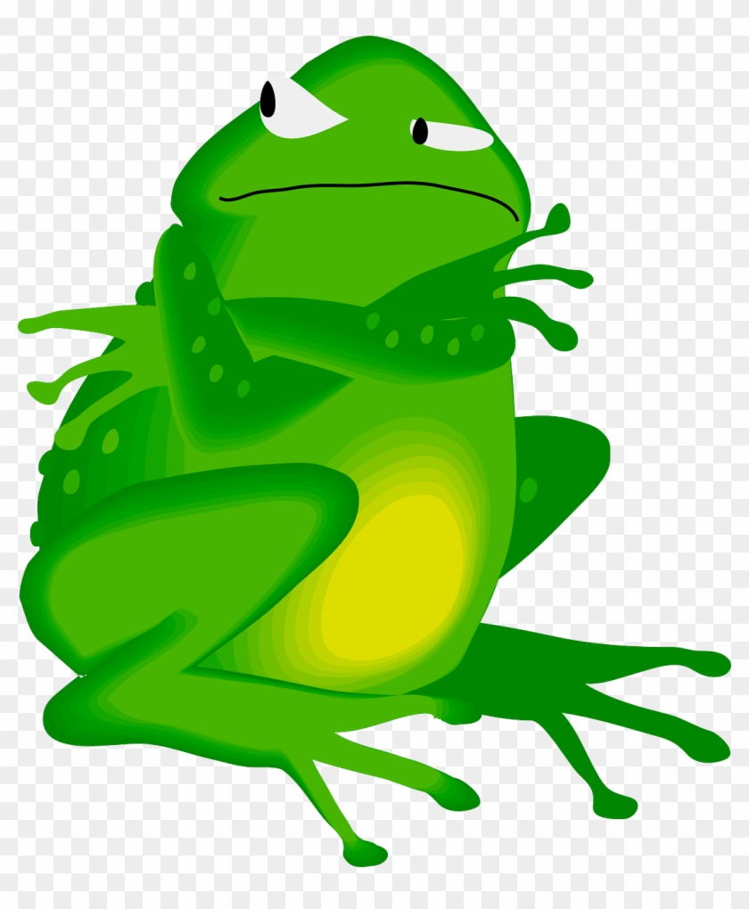 Angry Frog Cliparts - I M Getting The Last Word #16560