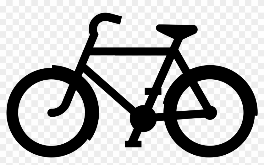 Cycling Bike Clip Art Bicycle Clipart 2 Clipartcow - Black And White Bike #16692