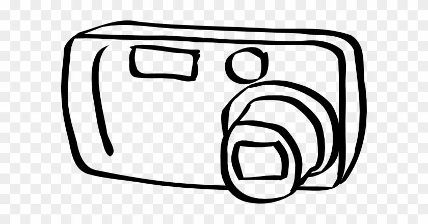 Whimsical Camera Clip Art At Clker Clipart Black White Rh Clipartmax Com Lens