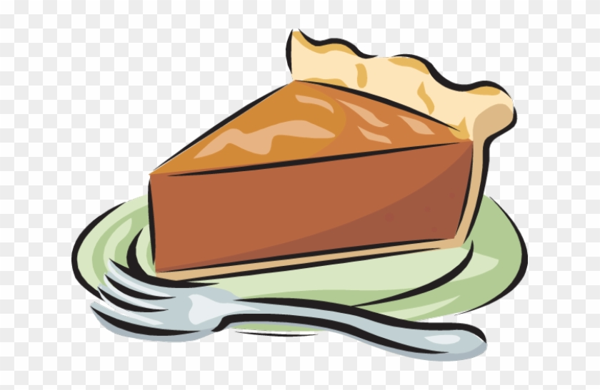 Pie Great Clip Art Of Desserts - Thankful For Pie Rectangle Magnet #16716