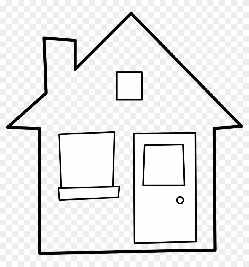House Outline Cliparts - House Outline #16721