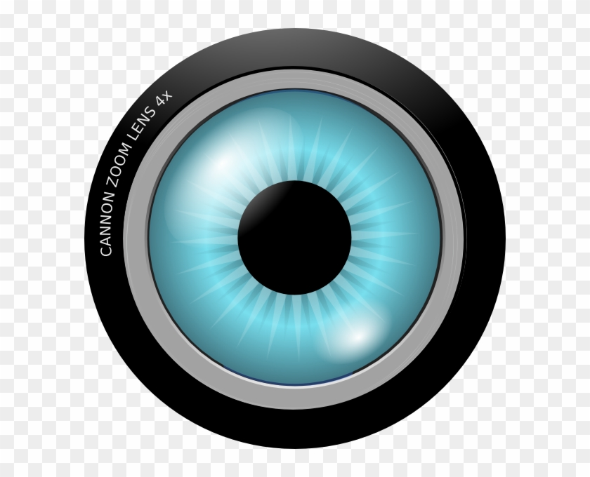 Eye Lens Clip Art At Clker - Eye Lens Clip Art #16737