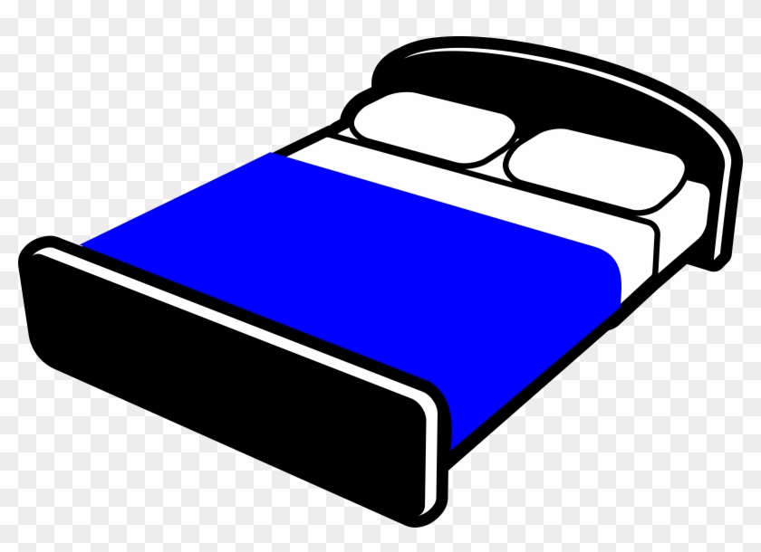 Make Bed Clip Art Cliparts And Others Inspiration - King Size Bed Clipart #16777