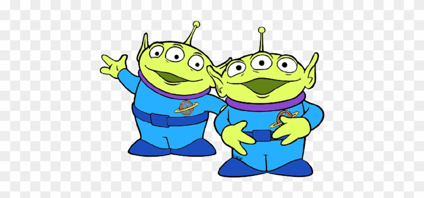 Little Green Man Little Green Man Little Green Men - Toy Story Aliens Clipart #16787