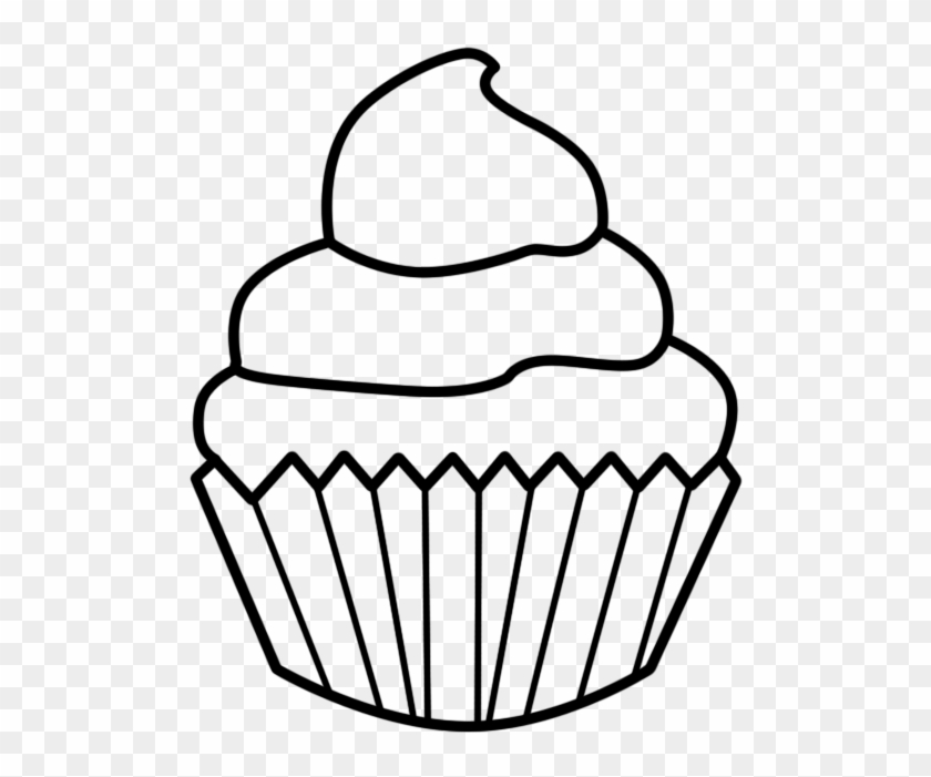 cupcake black and white cupcake outline clipart black cupcake rh clipartmax com Outline Cupcake Clip Art with Sprinkles Cupcake Outline Template