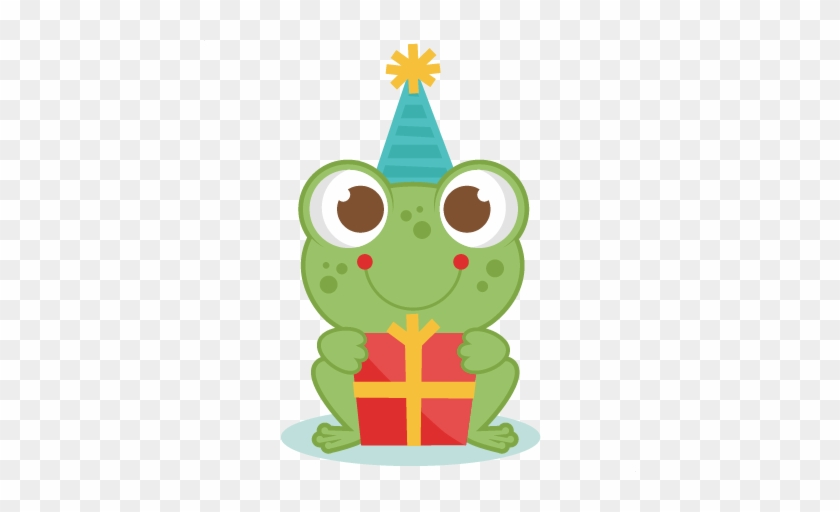 Graphics For Cute Birthday Clip Art Graphics - Birthday Frog #16831