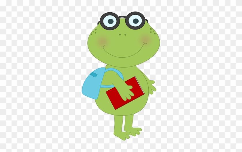 School Frog Clip Art School Frog Image Aagrta Clipart - Frog Clipart School #16853