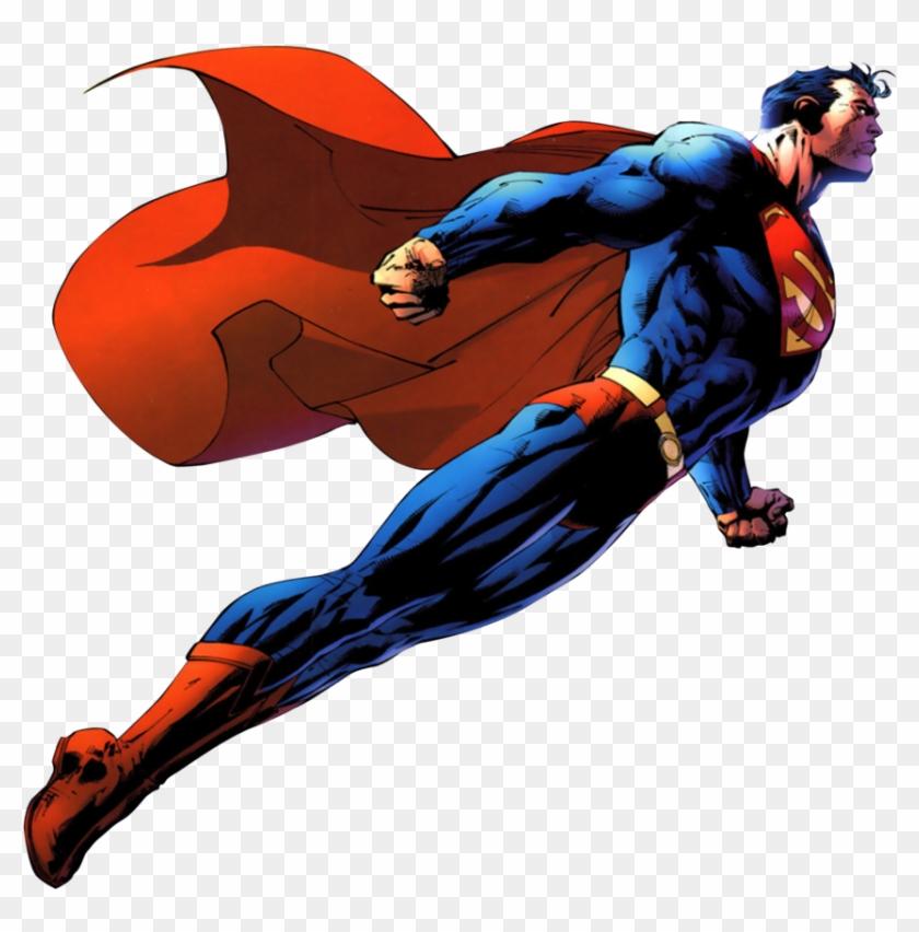 Superman Clip Art - Superman Flying Transparent Background #16858