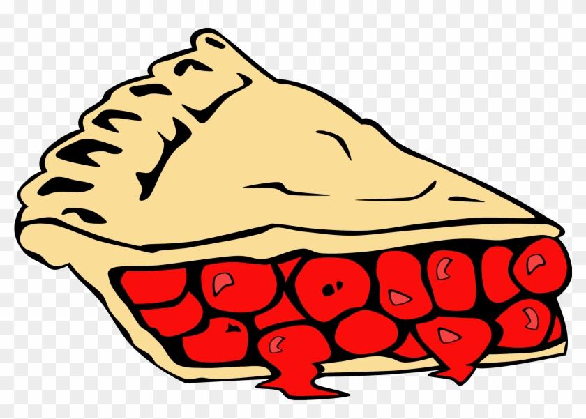 Chicken Slice Cliparts - Cherry Pie Clipart #16976
