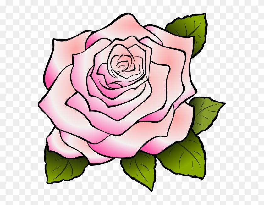 Pink Rose Clip Art #16991