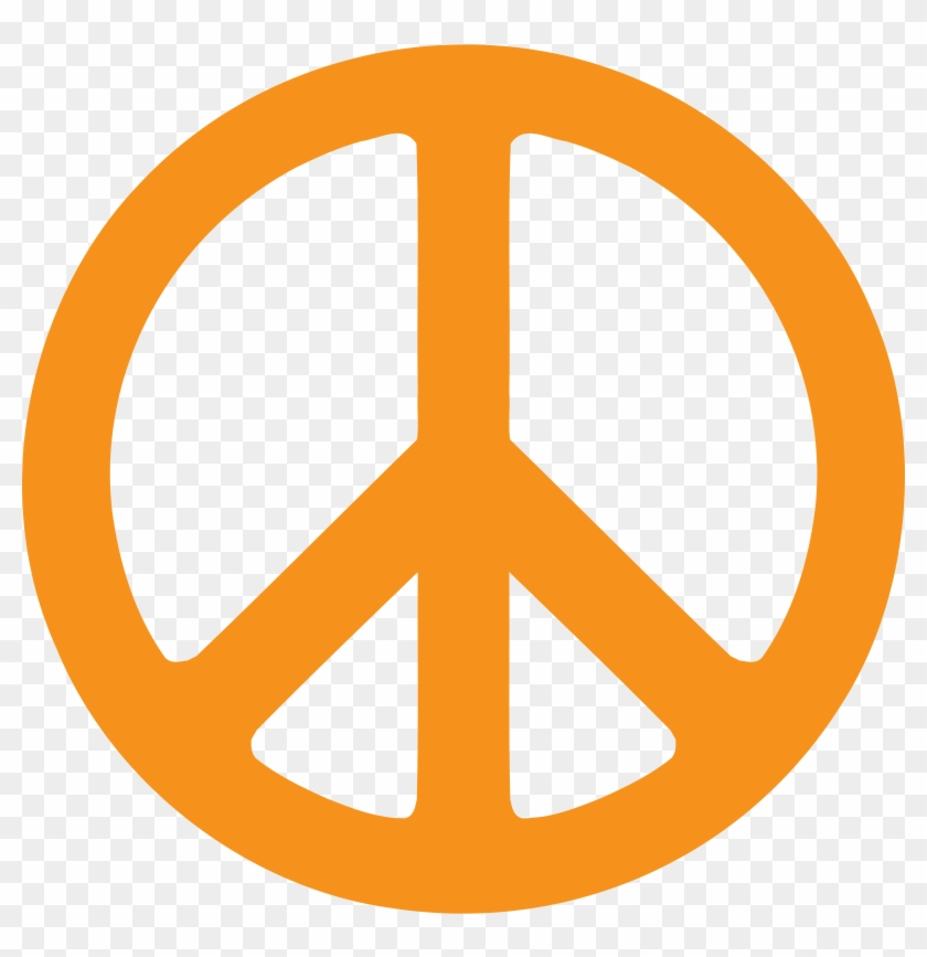 Peace Sign Clipart Peace And Love Symbol Clipart Free