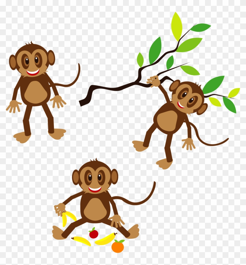 Panda Clipart Free Images And Photos - Monkeys Clipart #16996