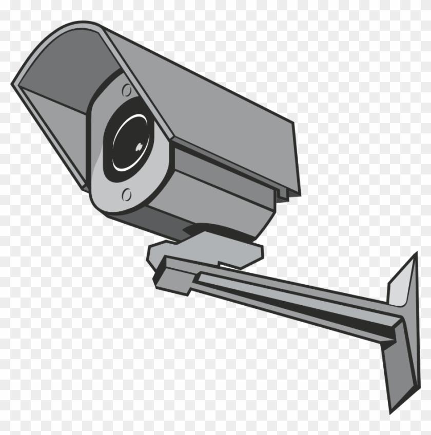 Dslr Camera Clipart, Vector Clip Art Online, Royalty - Surveillance Camera Clipart #17091