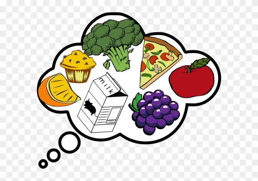 Smart Ideas Food Clipart For Thought Clip Art At Clker - Free Clip Art Food #17127