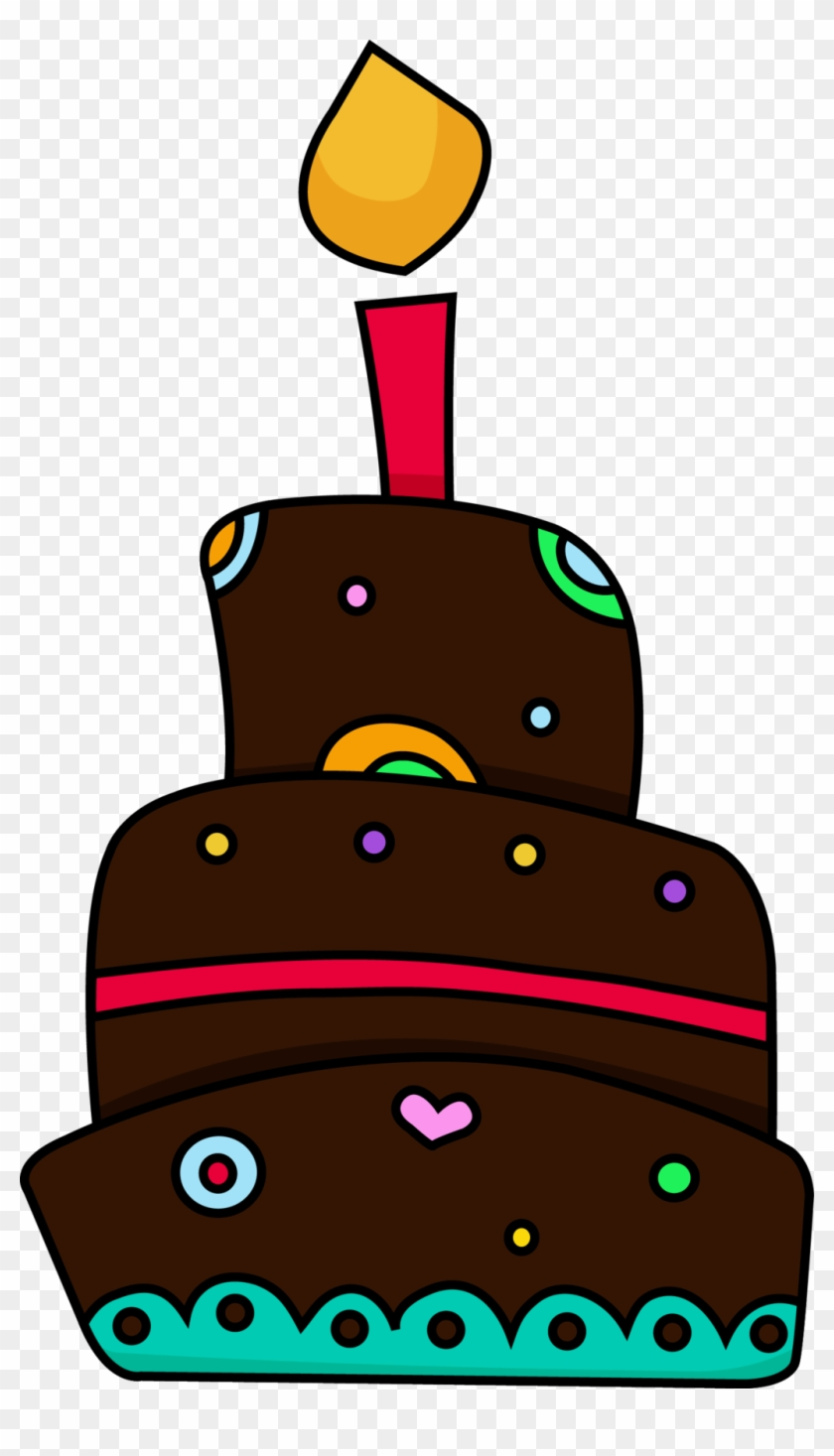 Birthday Cake Clip Art Cliparts And Others Art Inspiration - First Birthday Cake Cartoon Png #17180