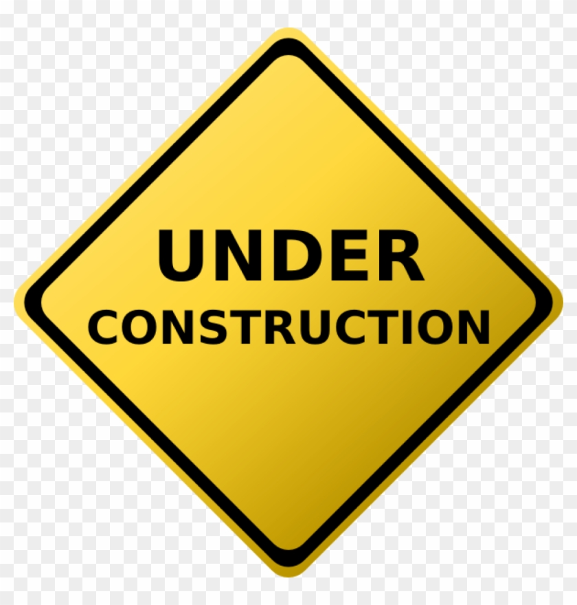 Construction Clipart Under Construction Sign Clip Art - Safety In The Workplace #17197