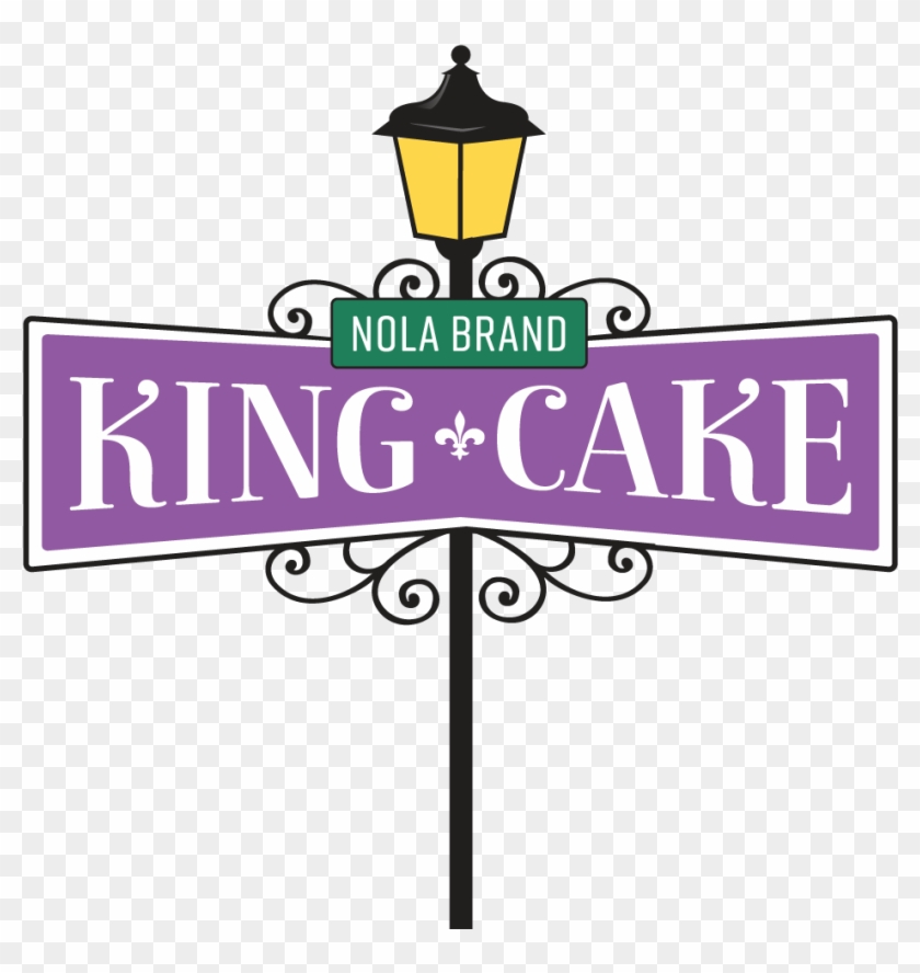 Clip Art Of King Cake Nola Brand Cakes - Nola King Cake Clipart #17219