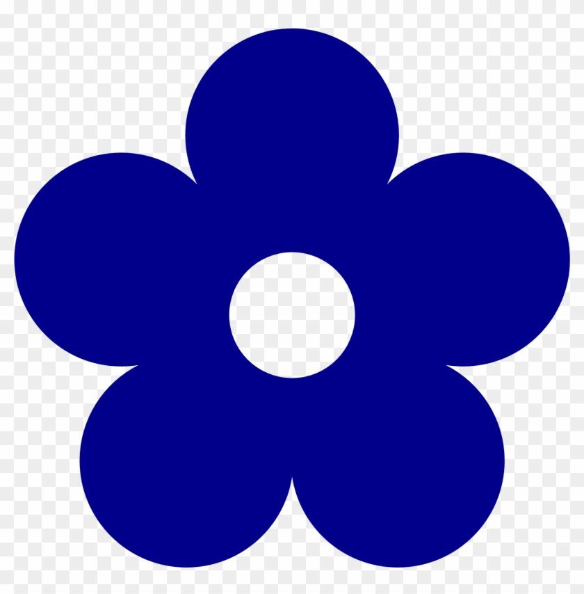 dark blue rose clipart clip art library dark blue flower clipart rh clipartmax com purple flowers clip art images purple flower clip art template