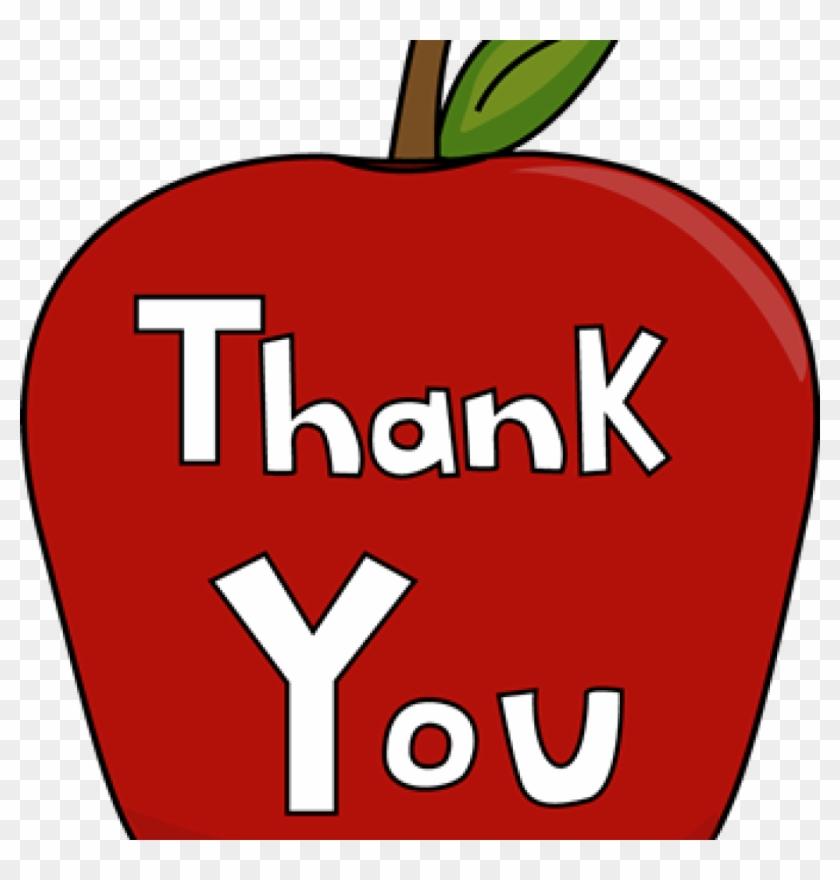 Teacher Appreciation Clip Art Images Of Thank You Clip - Teacher Appreciation Clip Art #17294