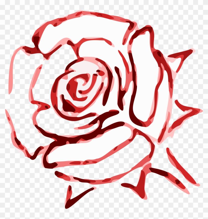 Free Rose - Red Rose Transparent Art #17390