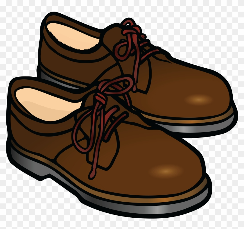 Free Clipart Of A Pair Of Mens Shoes - Shoes Clipart #17561