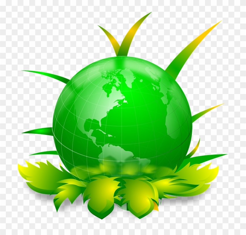 Earth World Globe Eco Ecology Save - Mother Earth Clip Art #17563