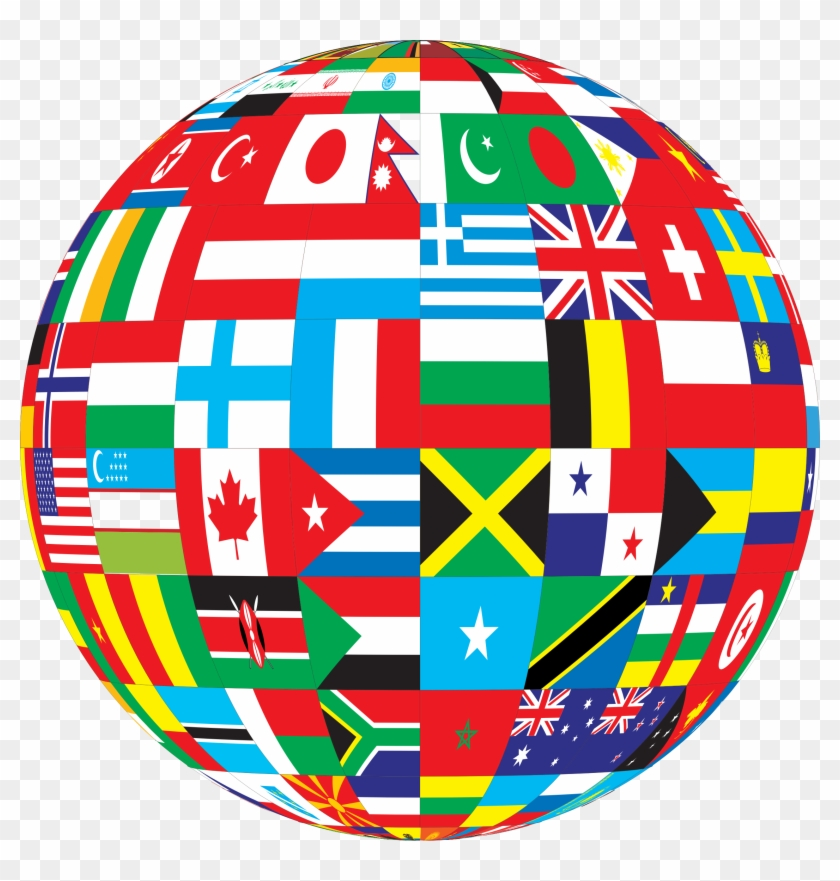 Kenya - Int'l - World Flag Globe Png #17578