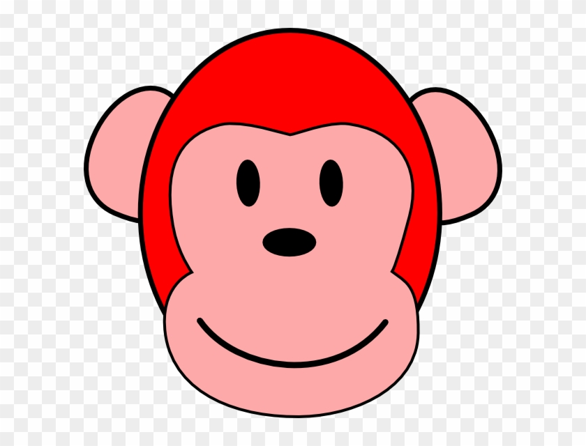 Red Monkey Clip Art - Red Monkey Png #17600