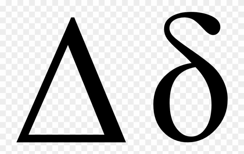 Delta Greek Symbol Transparent Delta Symbol Free Transparent Png
