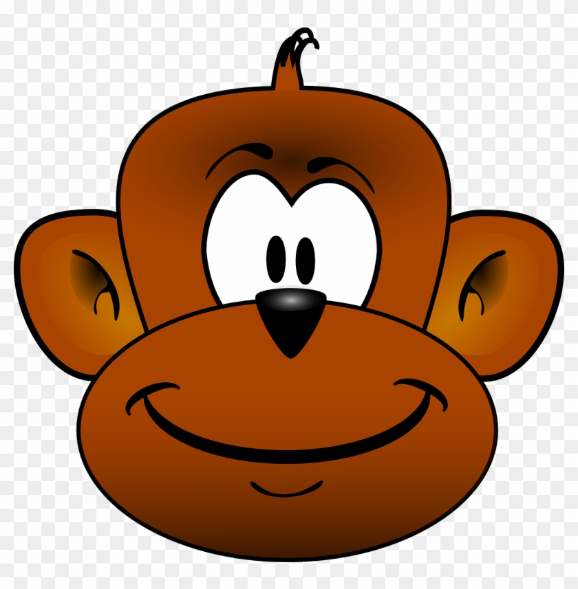 Clipart Info - Cartoon Monkey Head #17622