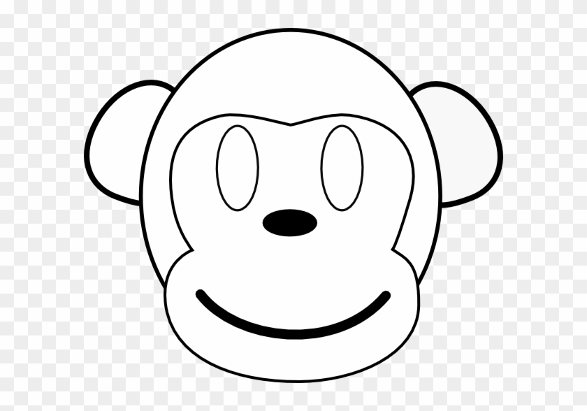 Monkey Face Clipart - Clip Art #17629