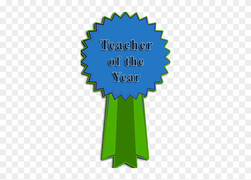 Teacher Of The Year Clip Art - Teacher Of The Year #17652