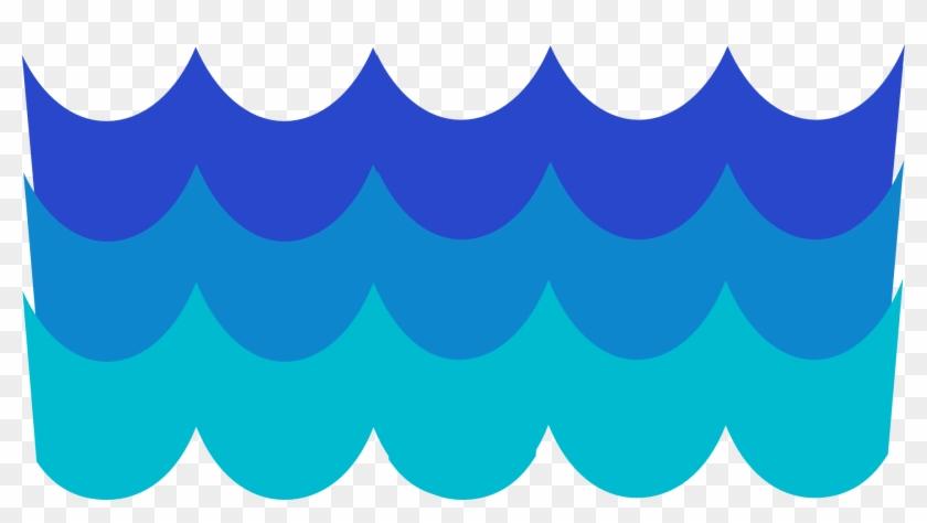 River Clipart Transparent Background - Waves Clip Art Png #17664