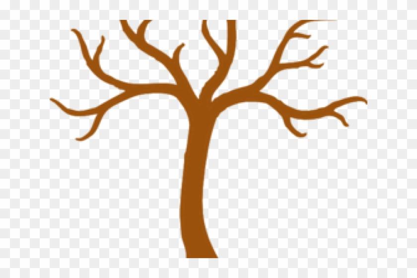 Empty Tree Cliparts - Tree Clipart Black And White #17706