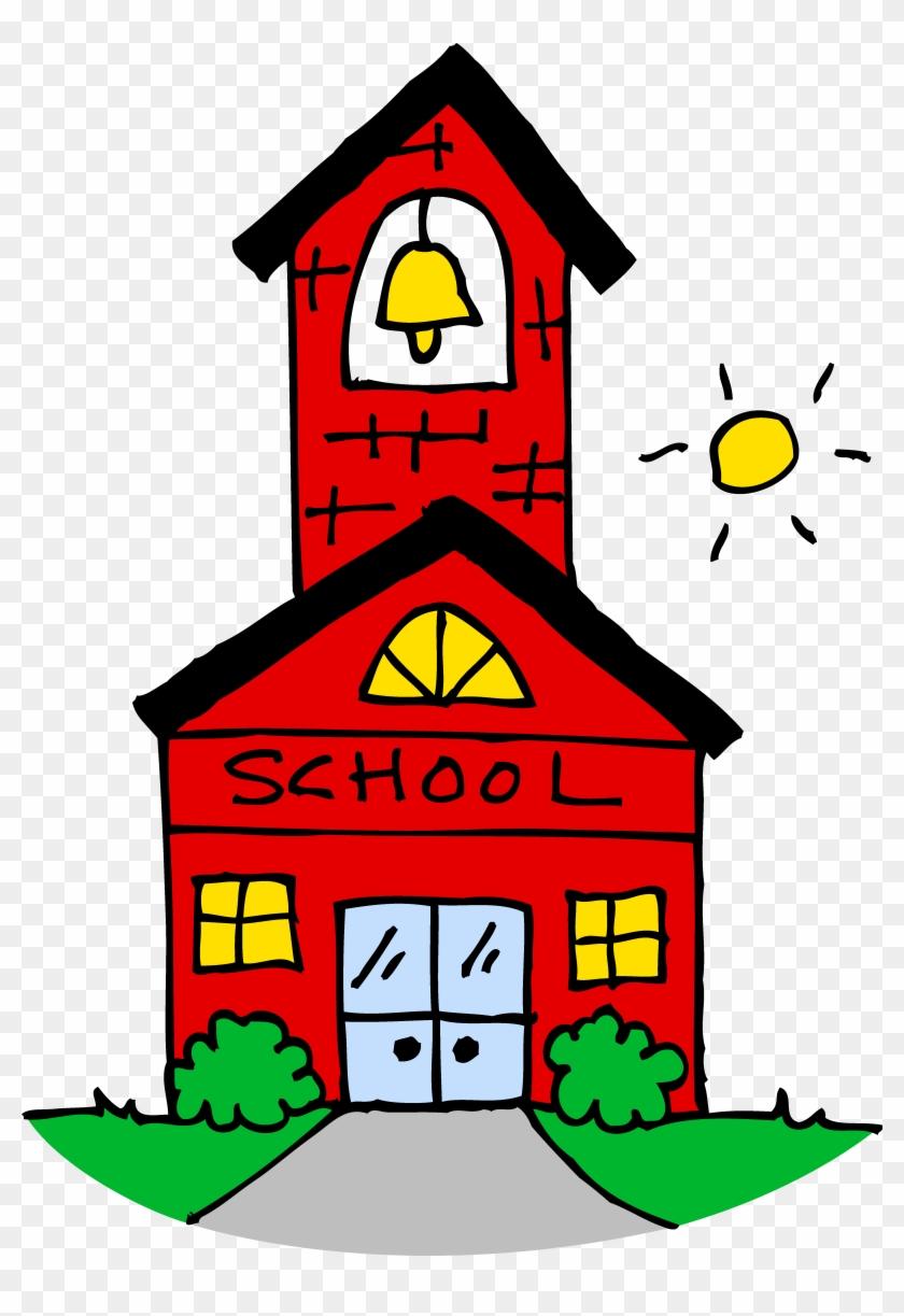 School House Clip Art - Free Clip Art School #17751