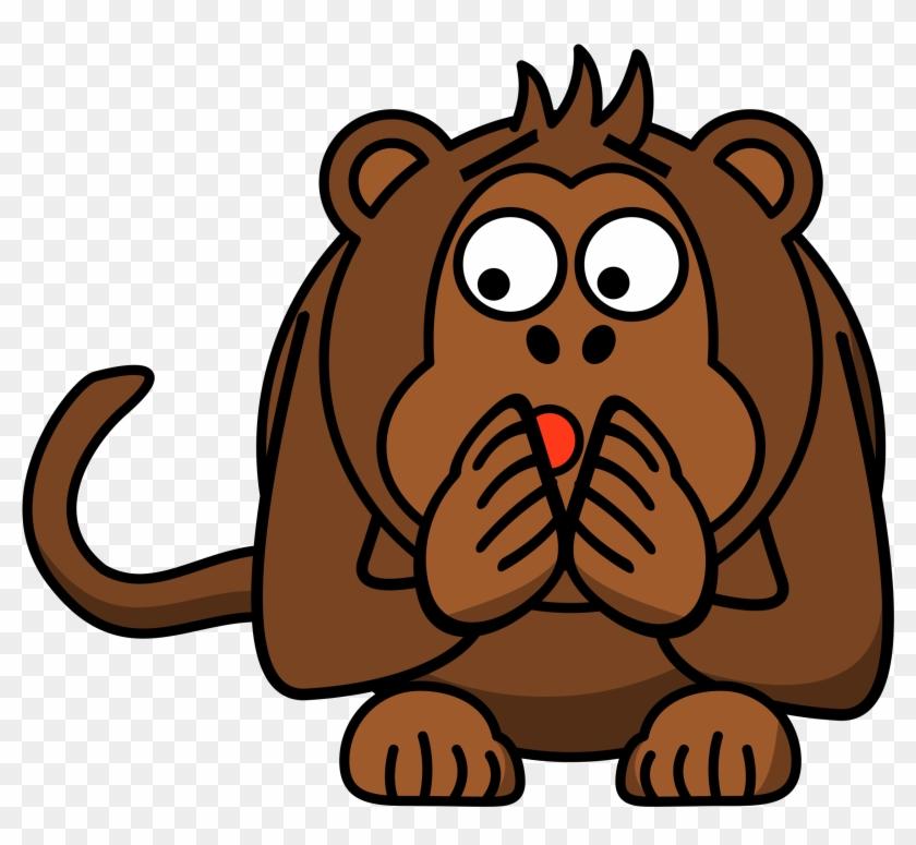 Monkey - Cartoon Monkey #17765