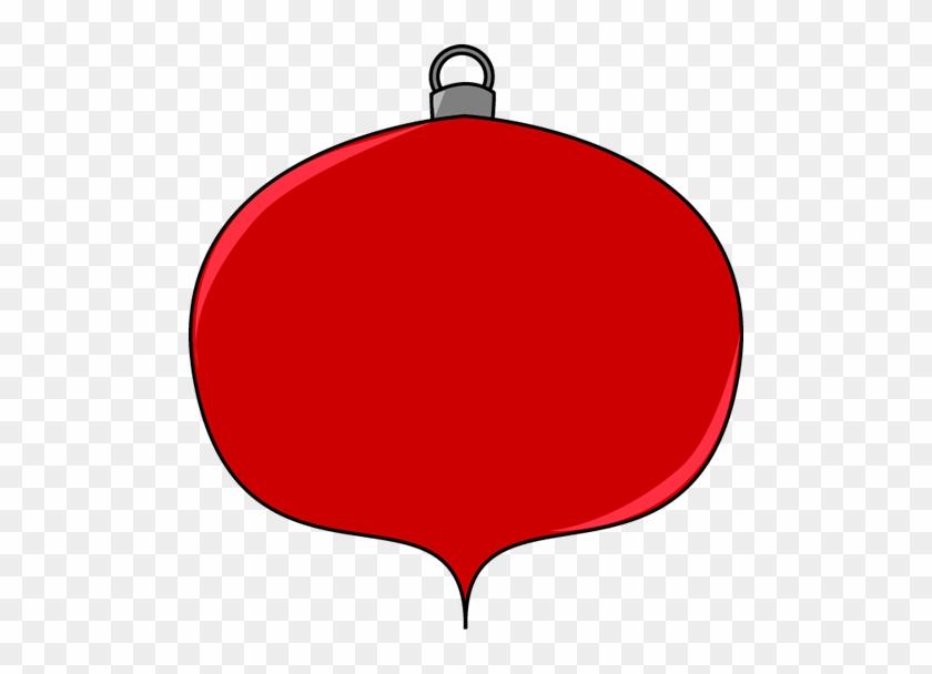 Ornament Clip Art - Red Christmas Ornaments Clipart #17782