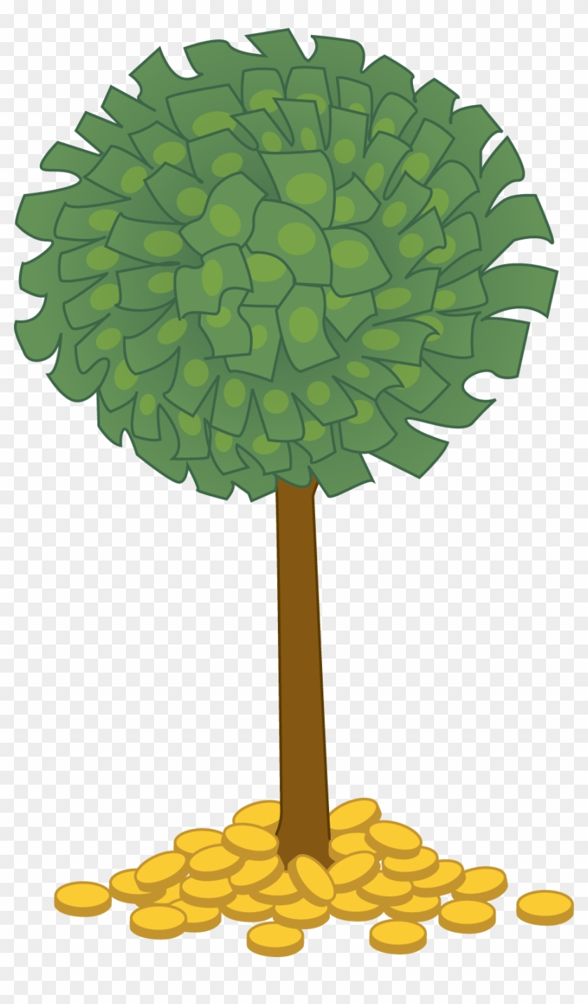 Money Tree Clip Art My Colormist - Money Tree Art Png #17985