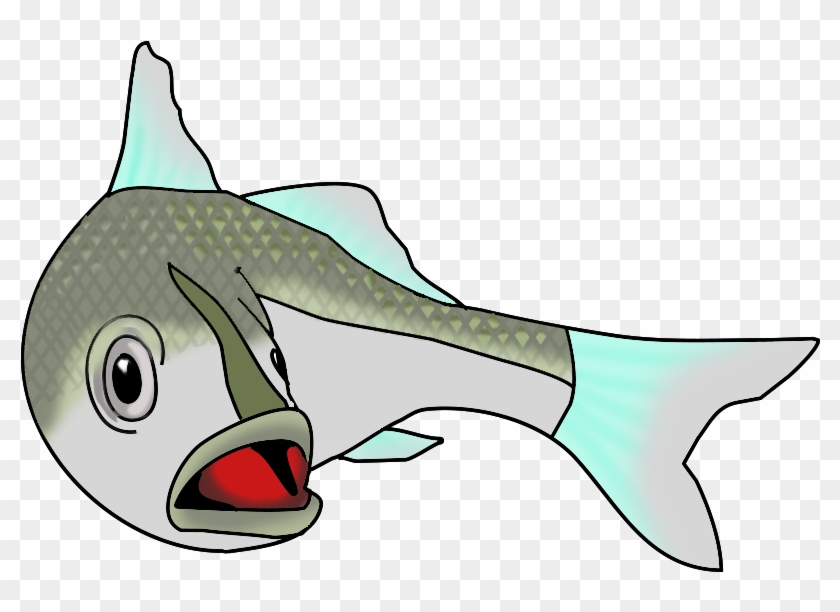 Turning Salt Water Fish - Fish In Water Clipart #18002