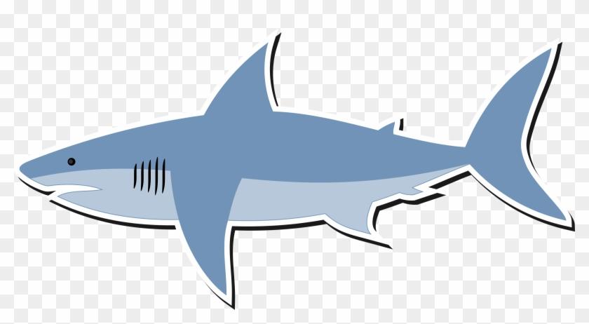 Clipart Cartoon Shark Png - Cartoon Shark #18006