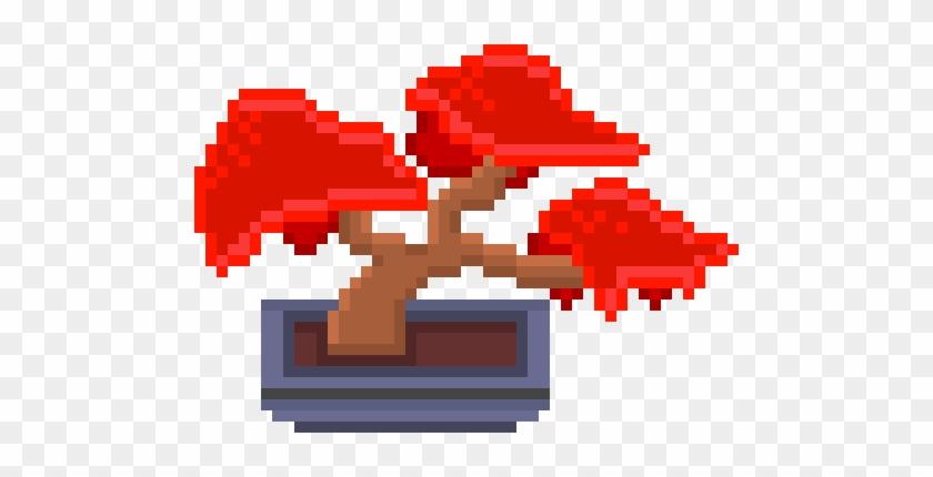 Bonsai Tree - Pixel Art #18015