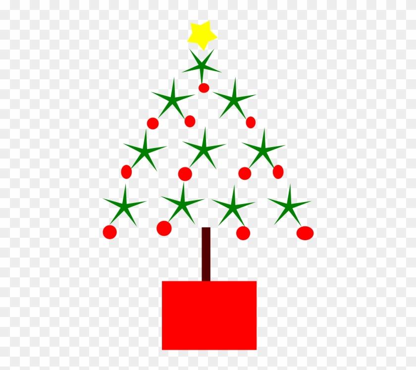 Christmas Tree Clipart Christmas Symbol - Modern Christmas Clip Art #18025