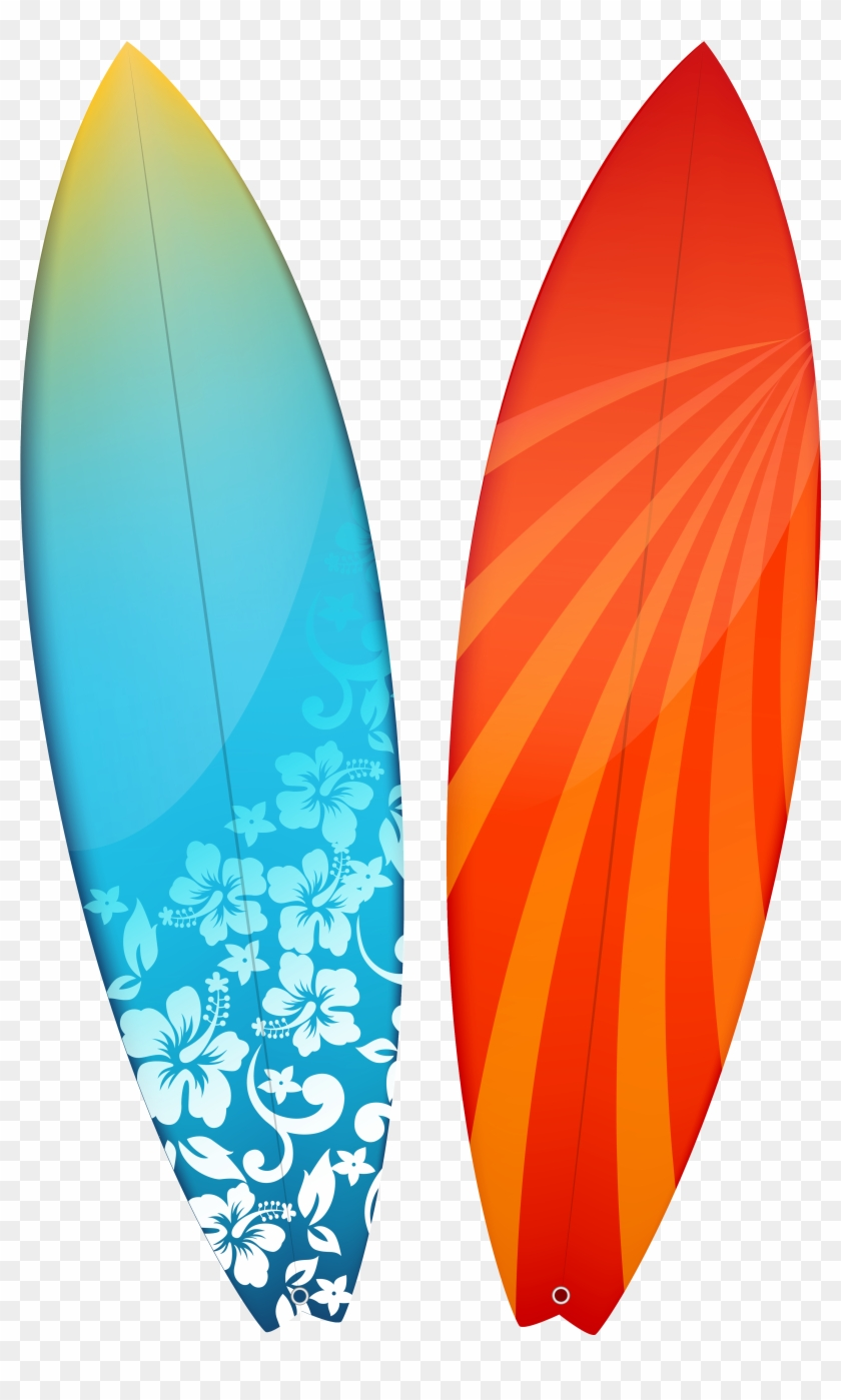 Surfboards Clipart Image - Surfboards Png #18062