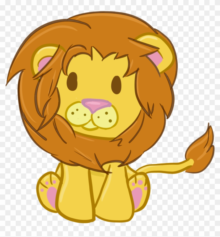 Chibi Lion By Bunnyo Of Light On Deviantart - Lion Chibi #18063