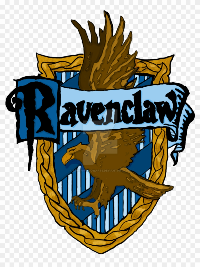 Ravenclaw Print By Lost In Hogwarts
