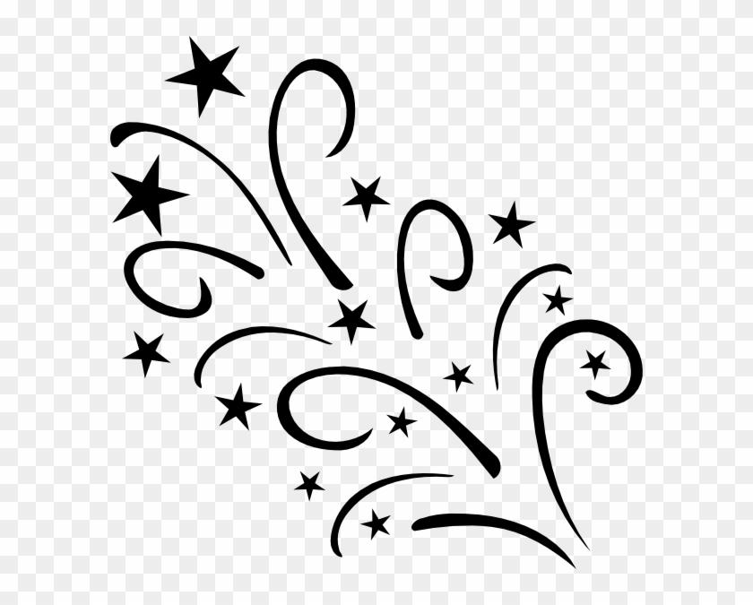 Shooting Star Clip Art #77055
