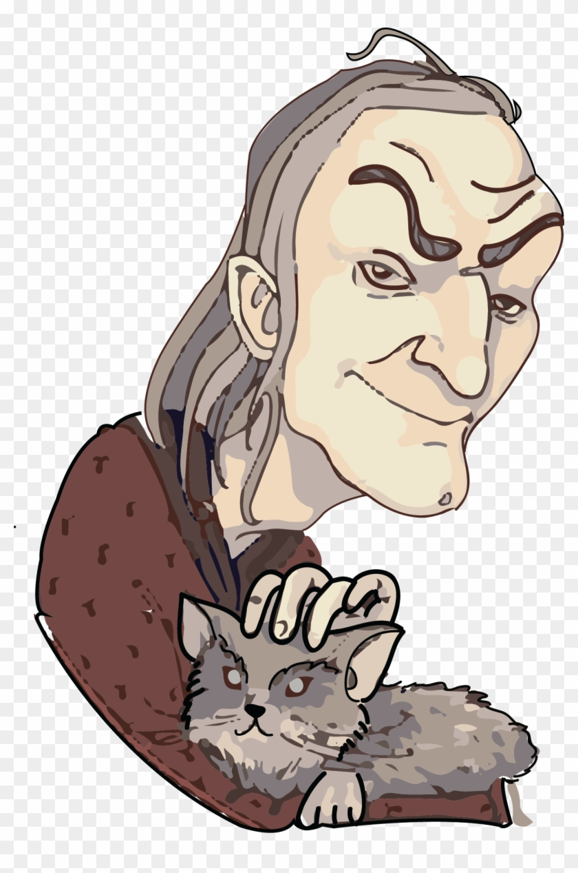 Norris Is The Pet Cat Of Argus Filch - Filch Harry Potter Clipart #77127