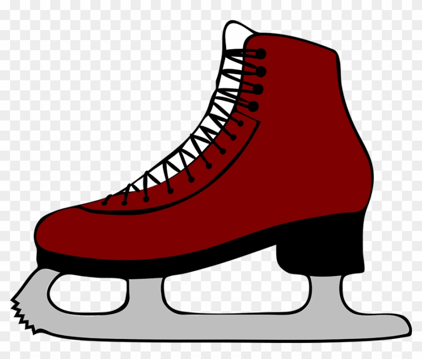 ice skates ice skating skates printable ice skate template