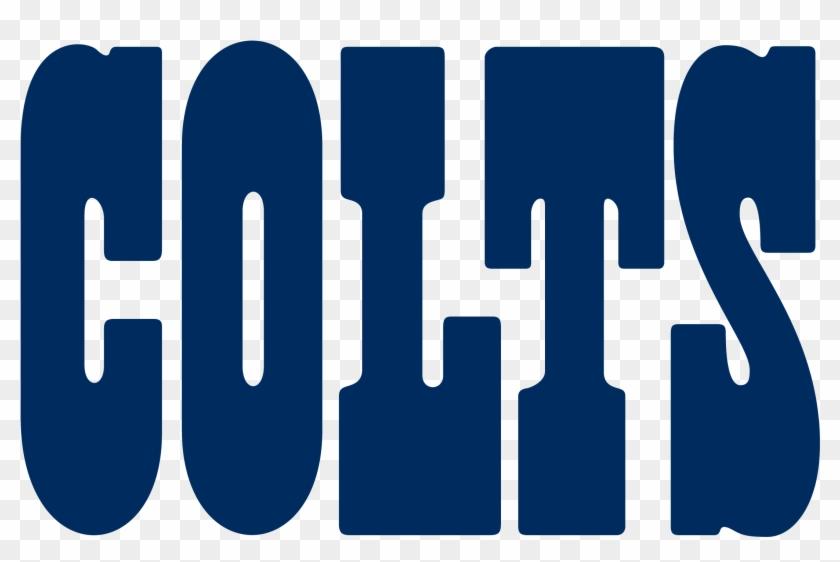 Fileindianapolis Colts Wordmark - Indianapolis Colts Logo Vector #77875